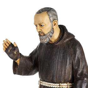 Statua Padre Pio 100 cm resina Fontanini s2