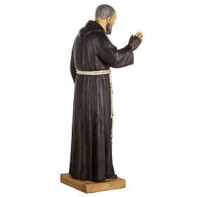 Statua Padre Pio 100 cm resina Fontanini s6