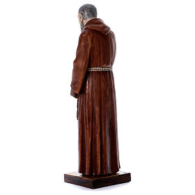 Statua Padre Pio 100 cm resina Fontanini s3