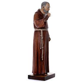 Statua Padre Pio 100 cm resina Fontanini s4