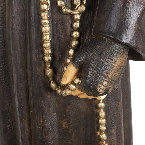 Statua Padre Pio 100 cm resina Fontanini 3