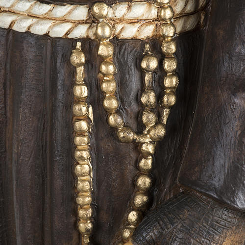 Statua Padre Pio 100 cm resina Fontanini 5