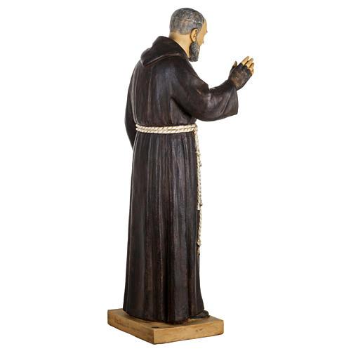 Statua Padre Pio 100 cm resina Fontanini 6
