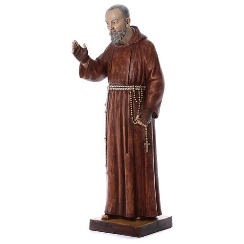 Statua Padre Pio 100 cm resina Fontanini 2