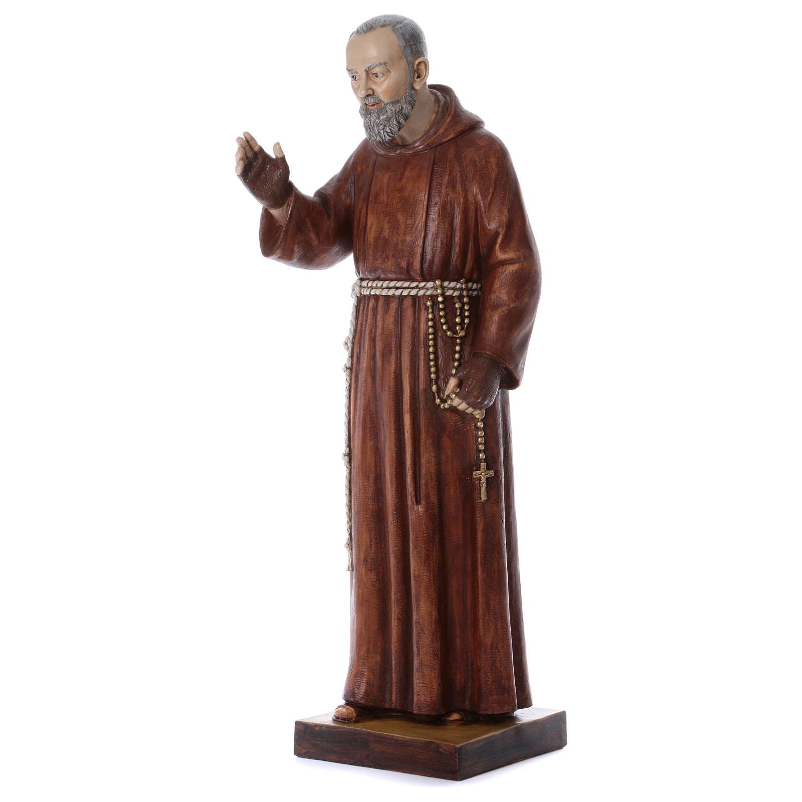Figurka Ojciec Pio 100cm żywica Fontanini 4