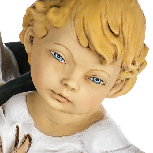 Statue Gottesmutter mit Christkind aus Harz 100cm, Fontanini 3