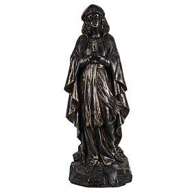 Figura Nuestra Señora de Medjugorje 100 cm. acabados bronceados s1