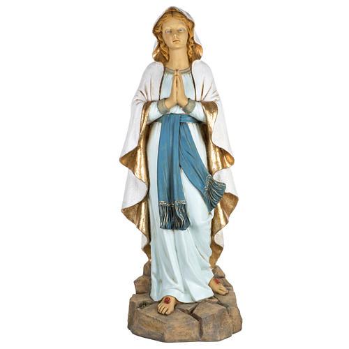 Vierge de Lourdes 100 cm résine Fontanini 1