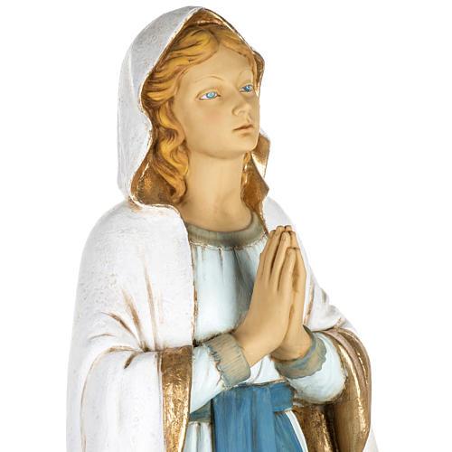 Vierge de Lourdes 100 cm résine Fontanini 2