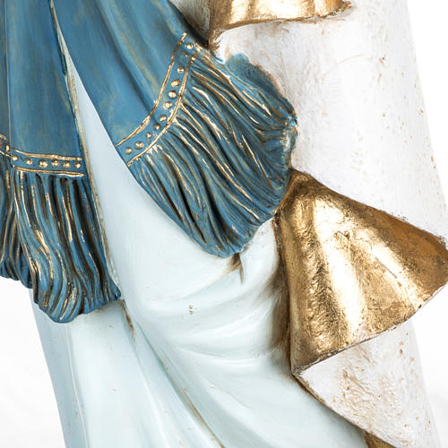 Madonna di Lourdes 100 cm resina Fontanini 5
