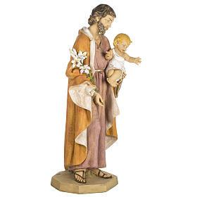 Statue Heiliger Josef aus Harz 100cm, Fontanini s5