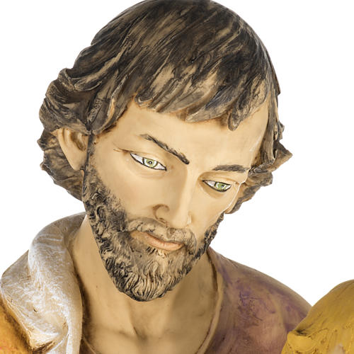 Statue Heiliger Josef aus Harz 100cm, Fontanini 2