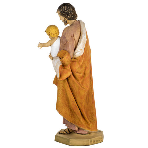 Statue Heiliger Josef aus Harz 100cm, Fontanini 8