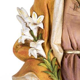 Statue St Joseph 100 cm résine Fontanini s4