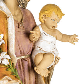 Statue St Joseph 100 cm résine Fontanini s6