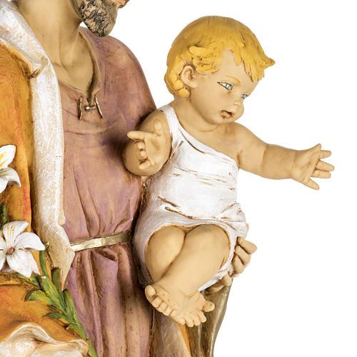 Statue St Joseph 100 cm résine Fontanini 6