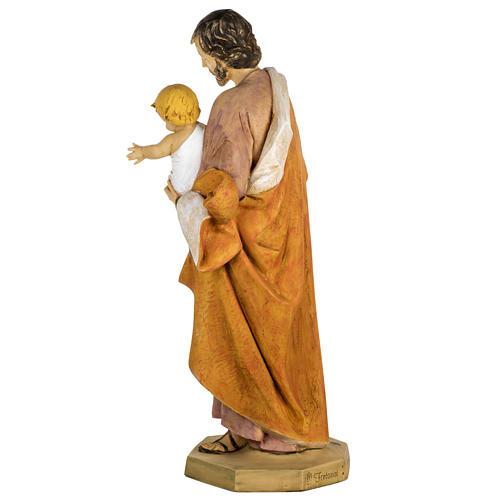 Statue St Joseph 100 cm résine Fontanini 8