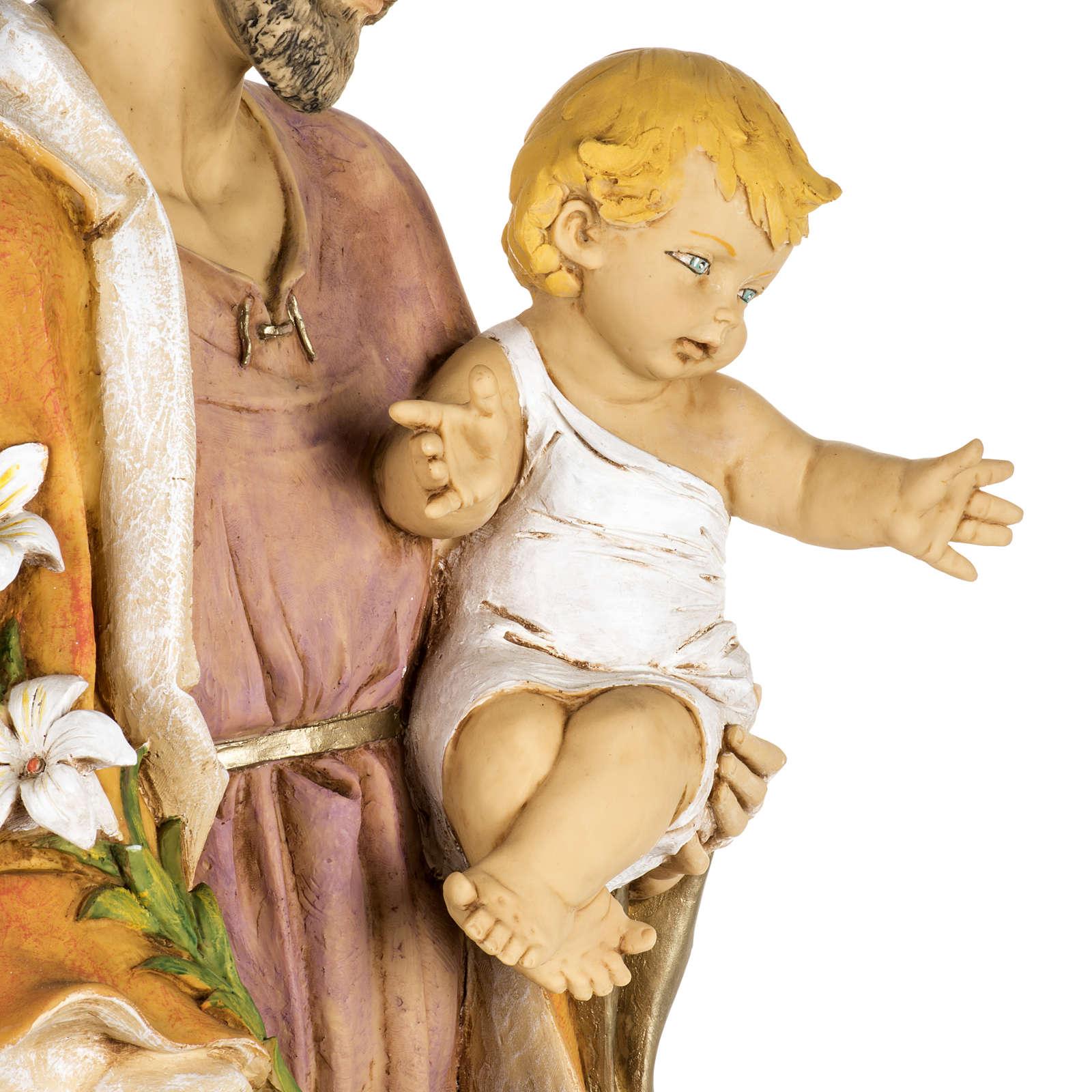 Statua San Giuseppe 100 cm resina Fontanini 4
