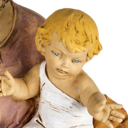 Statua San Giuseppe 100 cm resina Fontanini 3