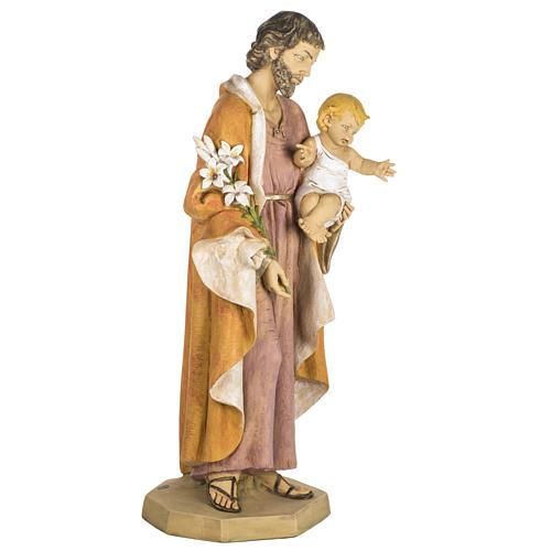 Statua San Giuseppe 100 cm resina Fontanini 5