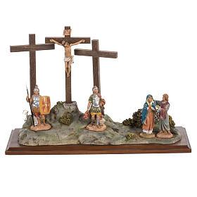 Imagens em Resina e PVC: Crucificação 12 cm Fontanini