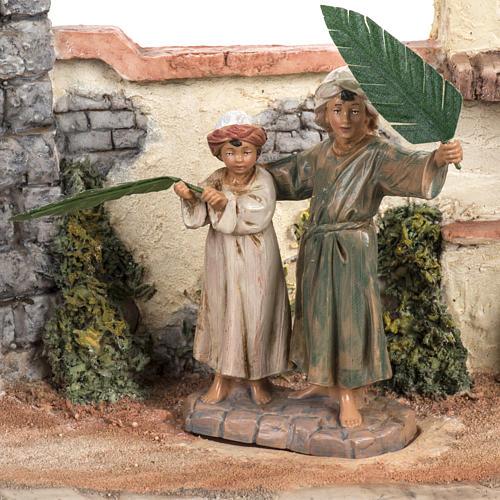 Dimanche des palmes 12 cm Fontanini 3