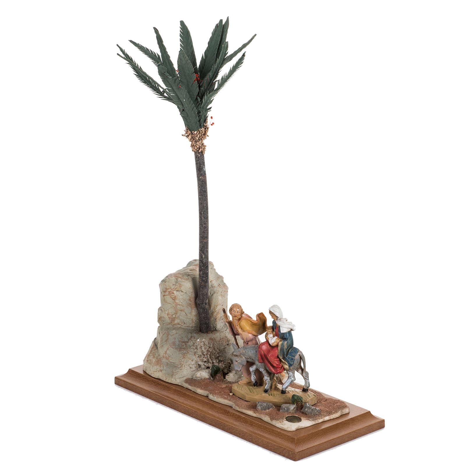 Fuga in Egitto 12 cm Fontanini 4