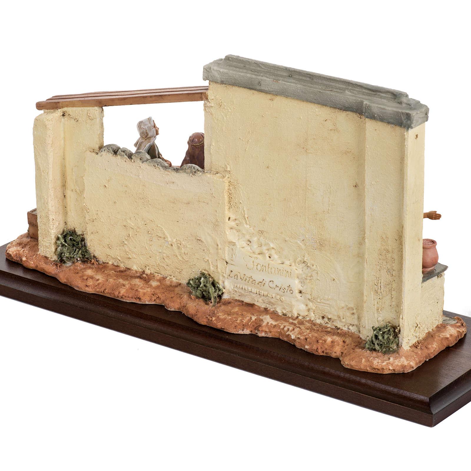 Scène recherche d'un logement 12 cm Fontanini 4