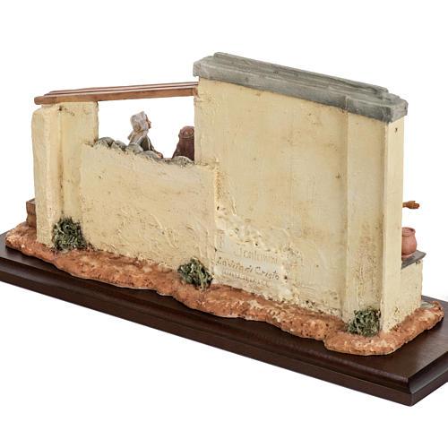 Scène recherche d'un logement 12 cm Fontanini 5