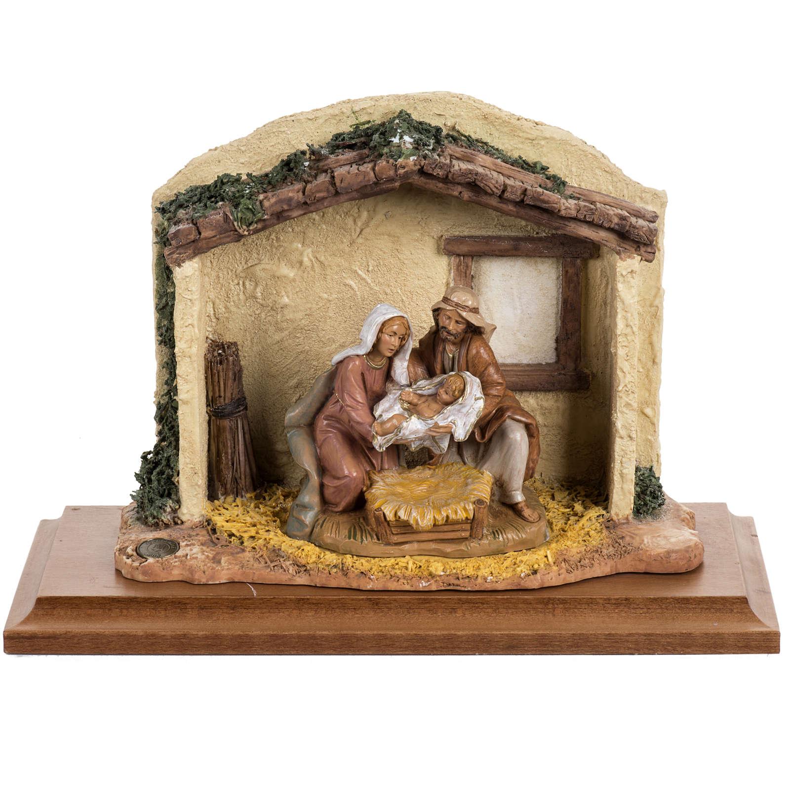 Nascita di Cristo 12 cm Fontanini 4