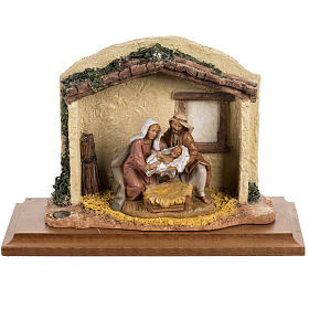 Imagens em Resina e PVC: Nascimento de Cristo 12 cm Fontanini
