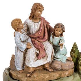 Jésus et les enfants 12 cm Fontanini s2