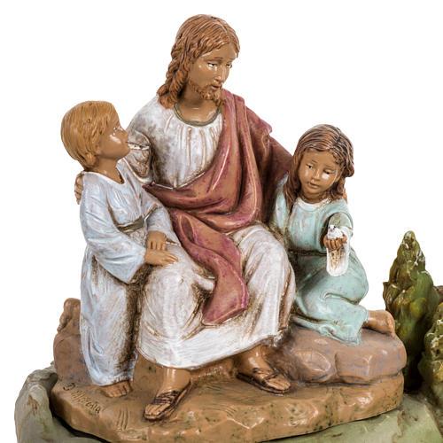 Cristo con i bambini 12 cm Fontanini 2