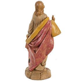 Sacro Cuore Gesù 30 cm Fontanini tipo legno s4