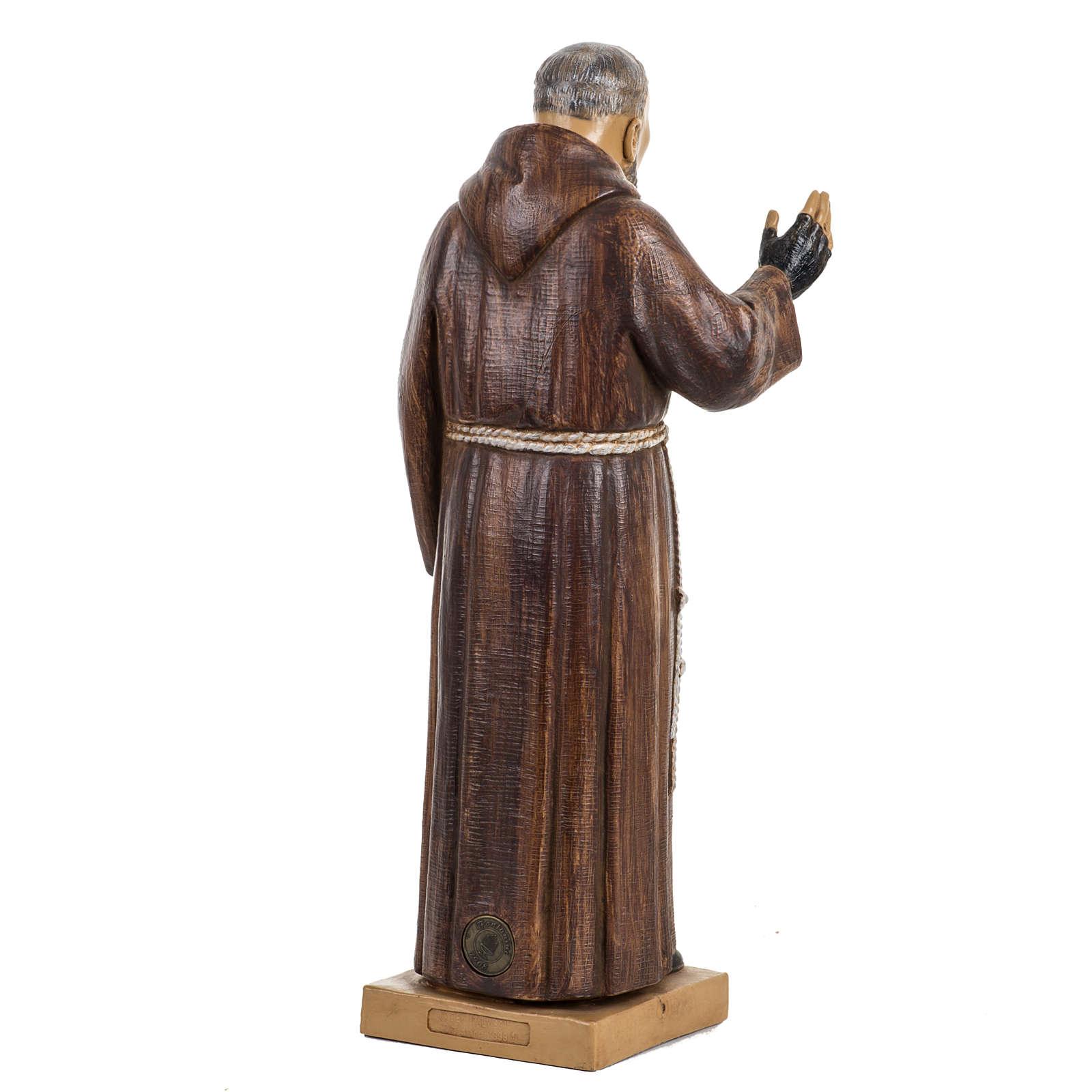 Père Pius 30 cm Fontanini finition bois 4