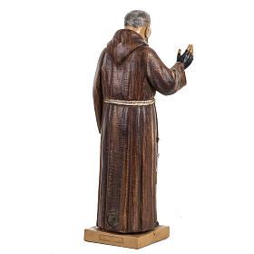 Père Pius 30 cm Fontanini finition bois s4