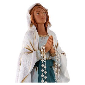 Nuestra señora de Lourdes 30 cm. Fontanini similar madera