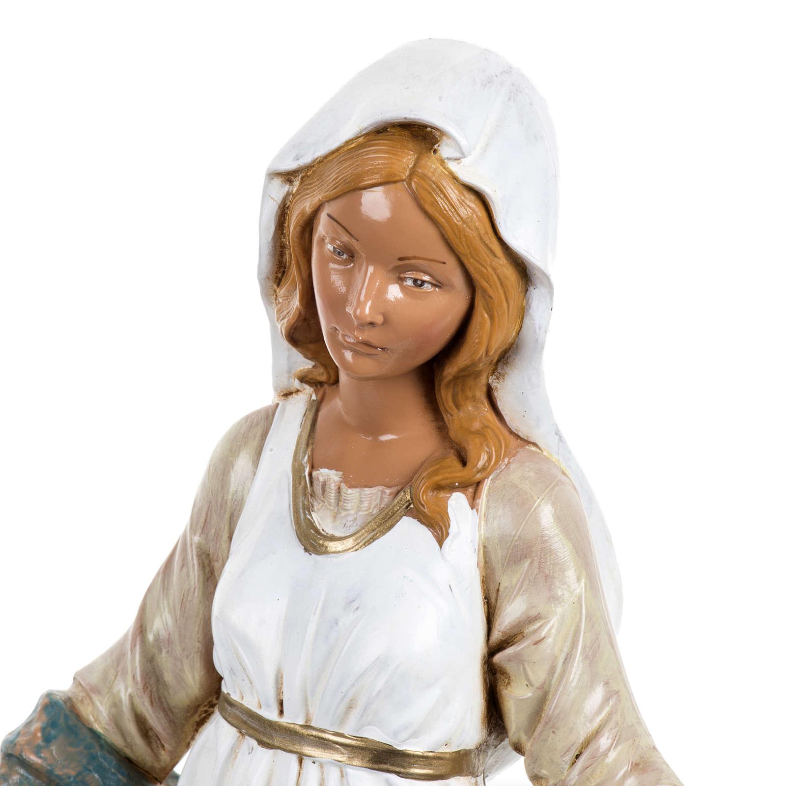 Notre-Dame Immaculée 30 cm Fontanini finition bois 4