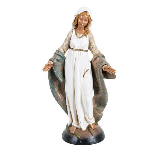 Madonna Immacolata 30 cm Fontanini tipo legno 1