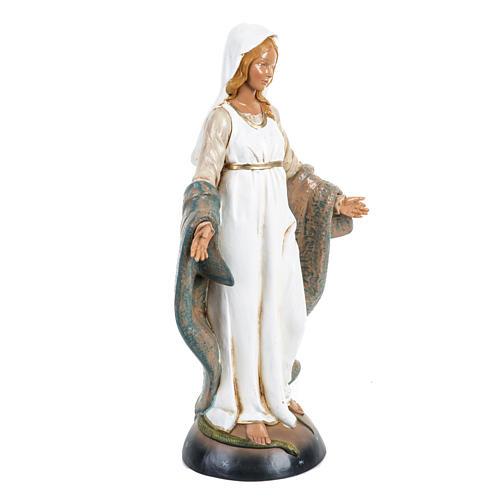 Madonna Immacolata 30 cm Fontanini tipo legno 2