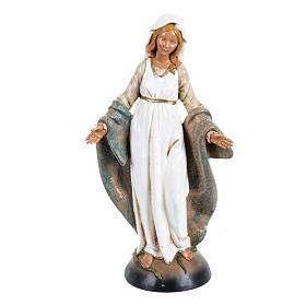 Imagens em Resina e PVC: Imaculada Conceição 30 cm Fontanini efeito madeira