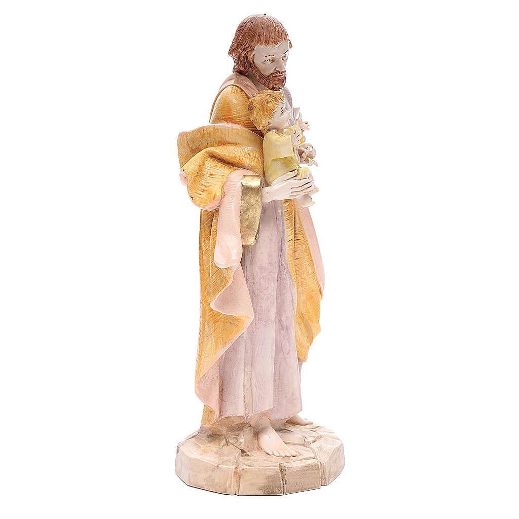 Statue Heiliger Josef 30cm Porzellan Finish, Fontanini 4