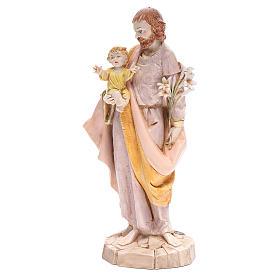 Saint Joseph 30 cm Fontanini finition porcelaine s2