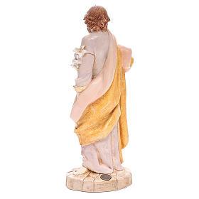 Saint Joseph 30 cm Fontanini finition porcelaine s3