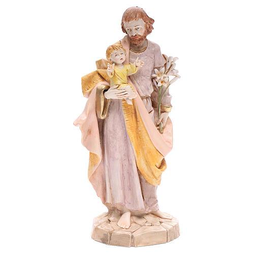 Saint Joseph 30 cm Fontanini finition porcelaine 1