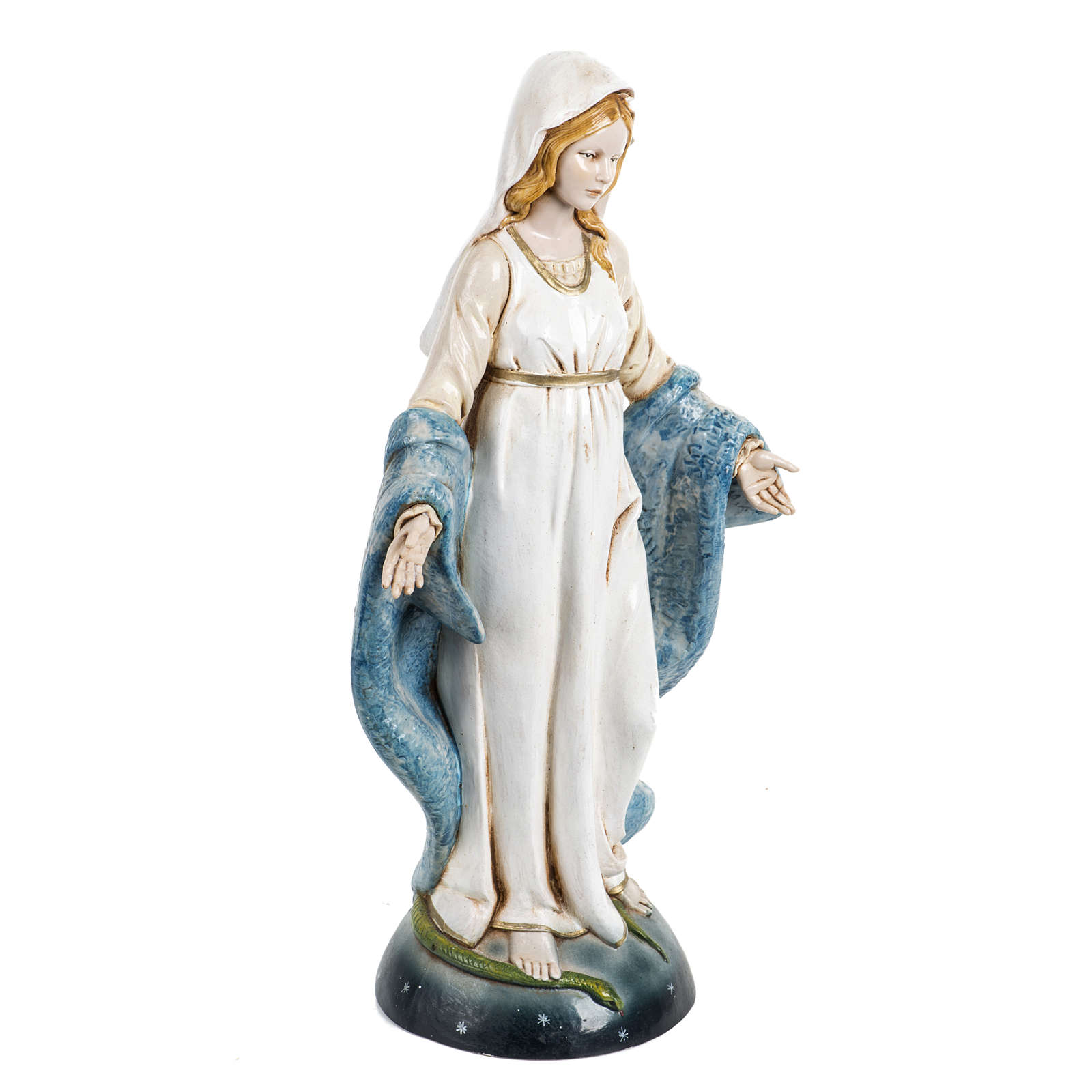 Notre-Dame immaculée 30 cm Fontanini finition porcelaine 4