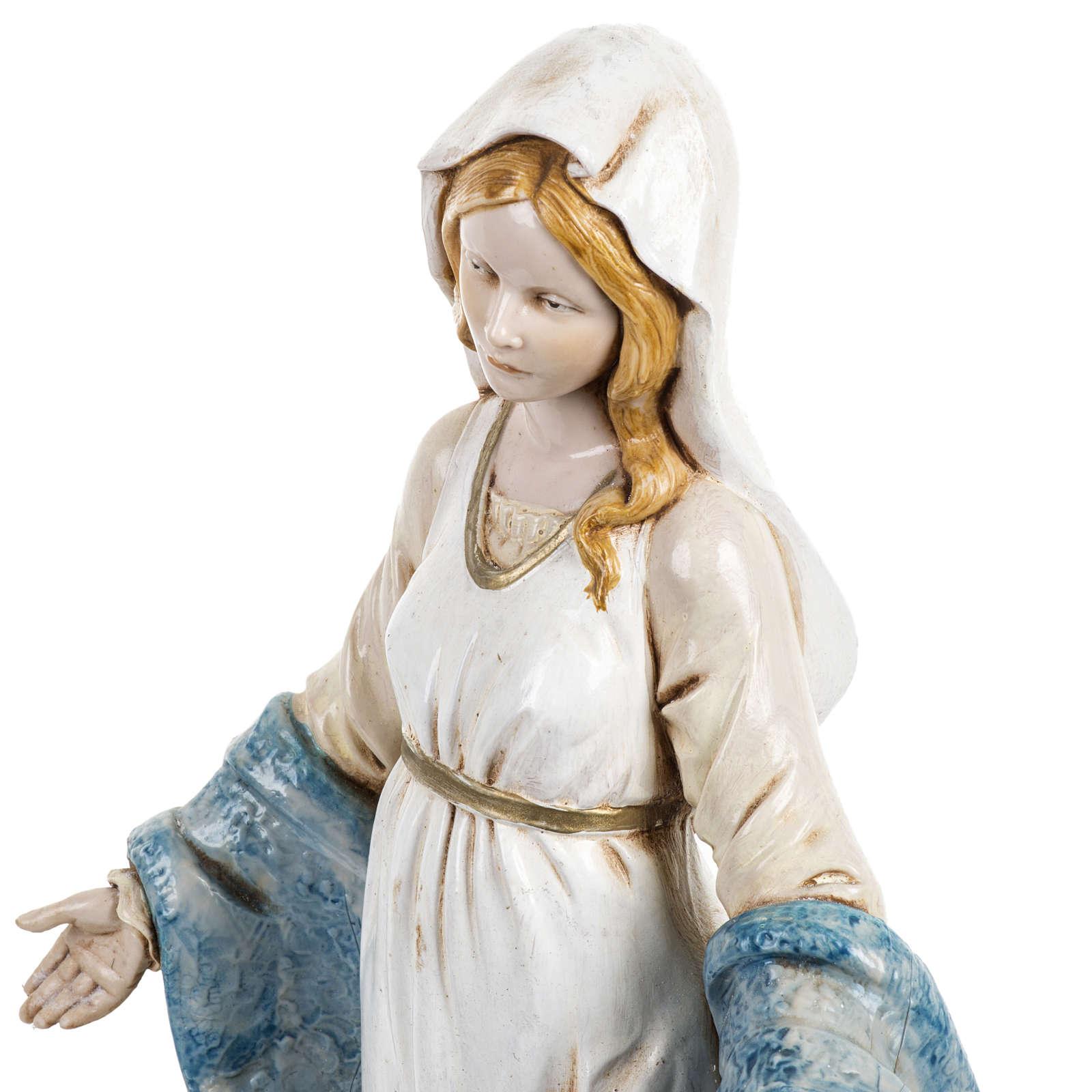 Madonna Immacolata 30 cm Fontanini tipo porcellana 4