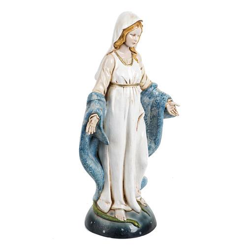 Madonna Immacolata 30 cm Fontanini tipo porcellana 2