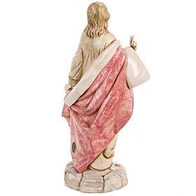 Sacro Cuore di Gesù 30 cm Fontanini tipo porcellana s4
