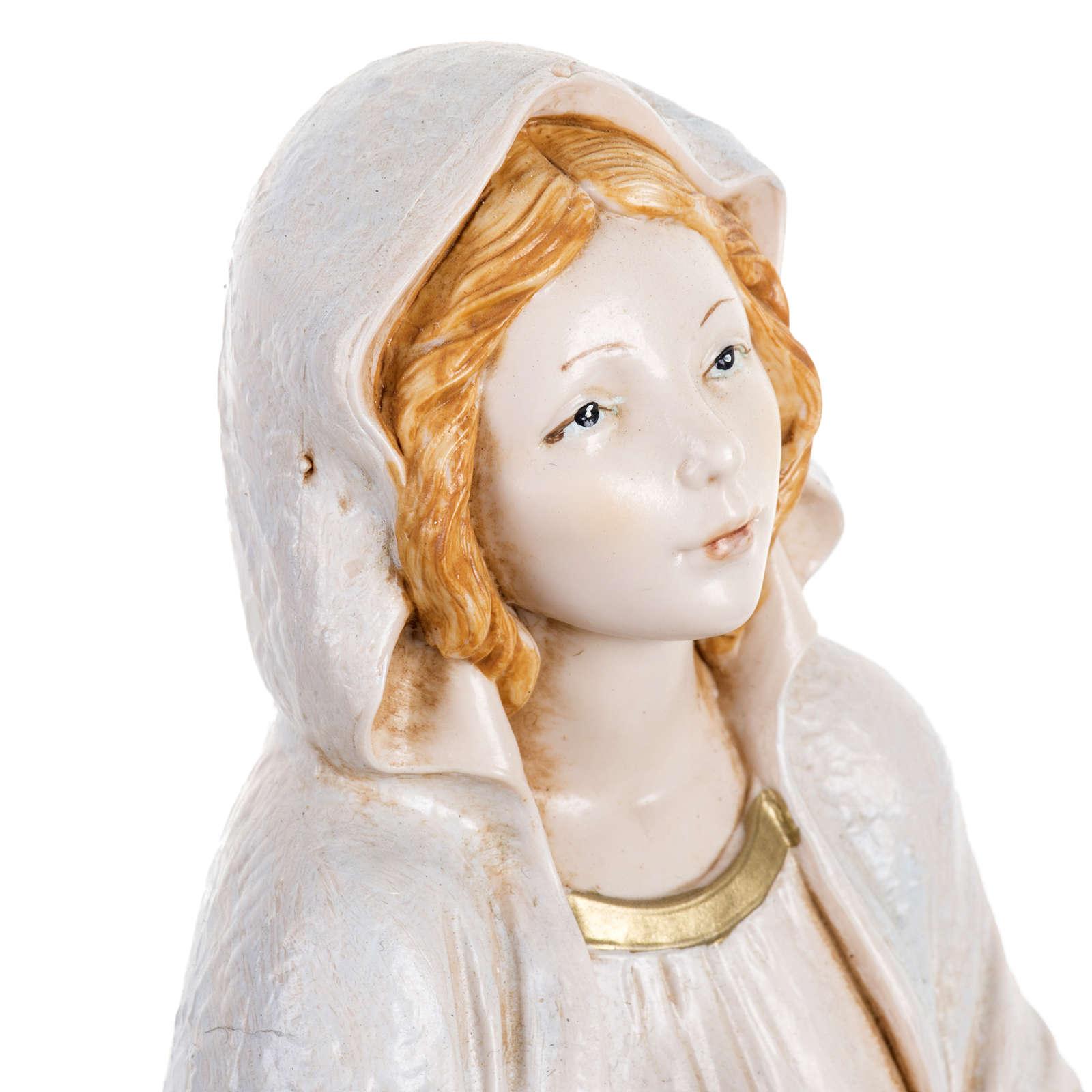 Notre-Dame de Lourdes 30 cm Fontanini finition porcelaine 4